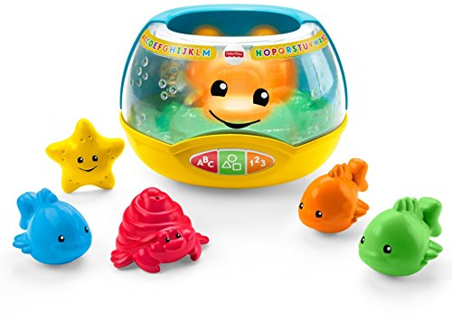 41MTIoc8K2L - Fisher-Price Laugh & Learn Magical Lights Fishbowl