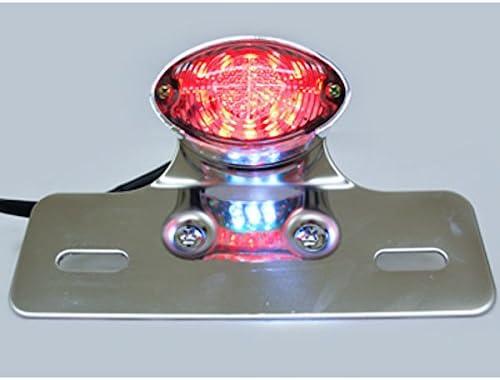 Krator Custom LED License Plate Taillight Brake Light For Harley Davidson XL Sportster V Rod Hugger 883