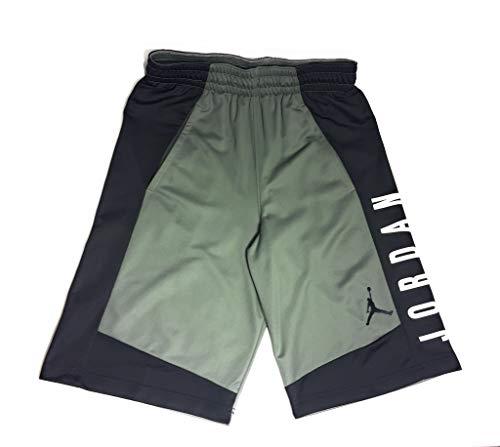 Jordan Nike Men's Air Highlight Basketball Shorts 899375-018 (Small, Green)