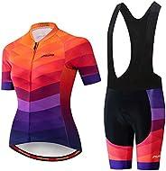 Women's Cycling Jersey Sets Bib Shorts Summer Bike Clothing Bicycle Clo