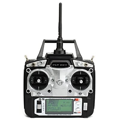 FlySky 2.4GHz 6 Channel Digital Transmitter and Receiver Radio System: Toys & Games