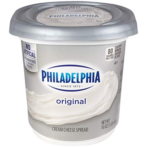 Philadelphia Original Cream Cheese Spread, 16 oz Tub