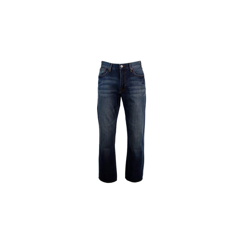 Lucky Brand Mens 181 Relaxed Fit Straight Leg Jeans   32W x 30L