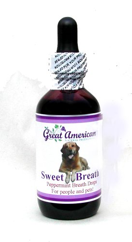 (Natural Breath Drops for Pets with Chlorophyll & Peppermint Essential Oil)