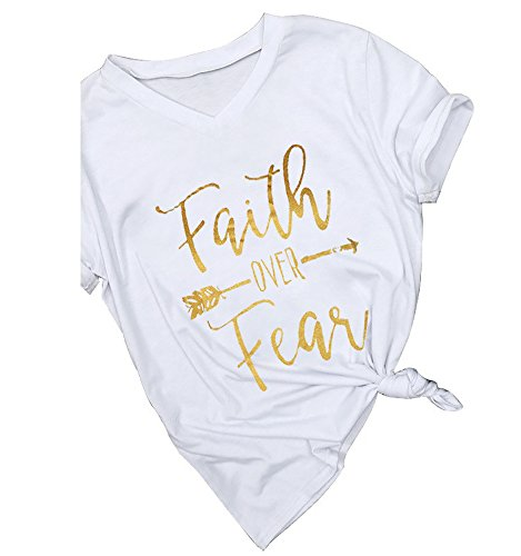 Gemijack Womens T Shirt Casual Cotton Short Sleeve Graphic T-Shirt Tops Tees