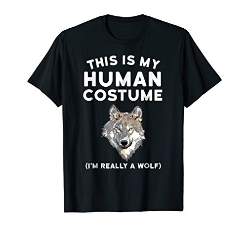 452615363 Wolf shirt wolf costume tees the best Amazon price in SaveMoney.es