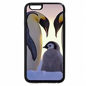 iPhone 6S Plus Case, iPhone 6 Plus Case, Royal Penguins