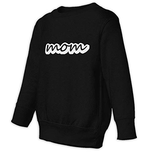 Xgbb I Got It From My Mother Mama You Know I Love You Toddler Long Sleeve Pullover Sweatshirt Little Boys' Sweatshirt Black 2T]()