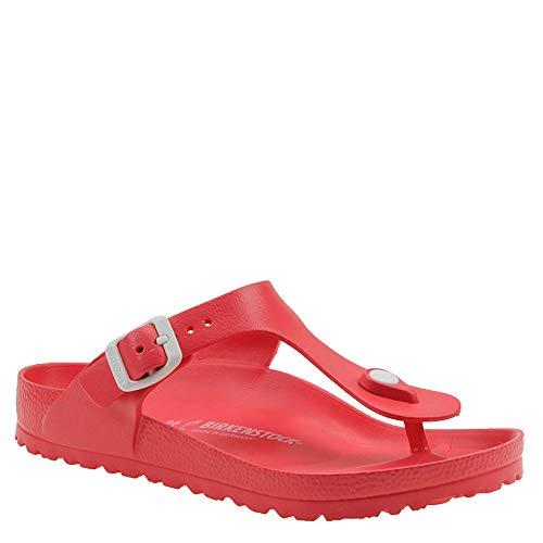 Birkenstock Women's Gizeh Coral EVA Sandals 38 (US Women's 7-7.5)]()