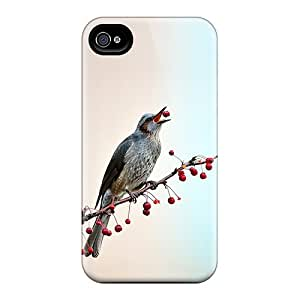 For Iphone 4/4s Protector Case Birds 4 Phone Cover