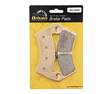 Race-driven Front & Rear Brake Pads For 2014-2017 Polaris 1000 Rzr Xp Eps Utv 3