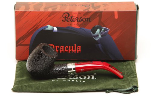 Peterson Dracula 69 Sandblast Fishtail Tobacco Pipe