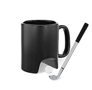 3 Piece Executive Tabletop Golf Coffee Mug Set
