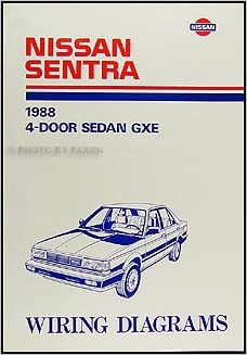 1988 Nissan Sentra Wiring Diagram Manual Original: Nissan ... on