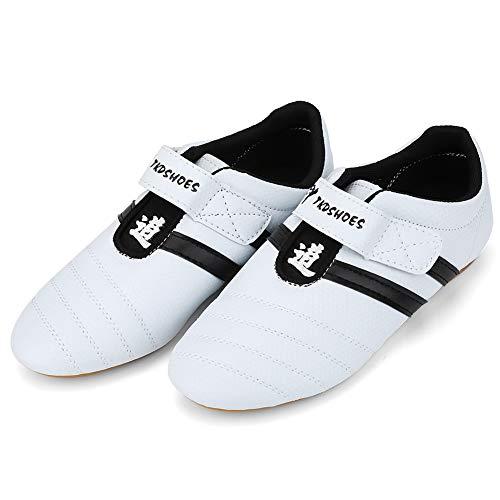 VGEBY1 Boxing Shoes, Taekwondo Boxing Kung Fu Tai Chi Wear Resisting Ventilation Shoes for Training Beginner Adult…