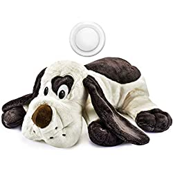 Moropaky Puppy Behavioral Aid Toy Heartbeat Toy Plush Toy for Anxiety Training Companion Crate