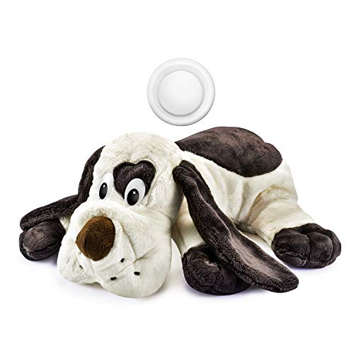 - Moropaky Puppy Behavioral Aid Toy Heartbeat Toy Plush Toy for Anxiety Training Companion Crate