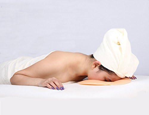 Elitzia ビューティー サロン シリコーン スパ マッサージ シリコン表面頭部リラックスゆりかご抱き枕クッション パッド再利用可能な洗える
