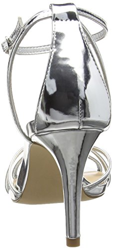 Aldo Crewien - Sandalias para mujer Plateado (Silver / 81)