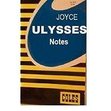 Ulysses Coles Notes / James Joyce (1981)