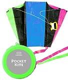 * Pocket kite / POCKET KITE case color: housed in a green pocket size
