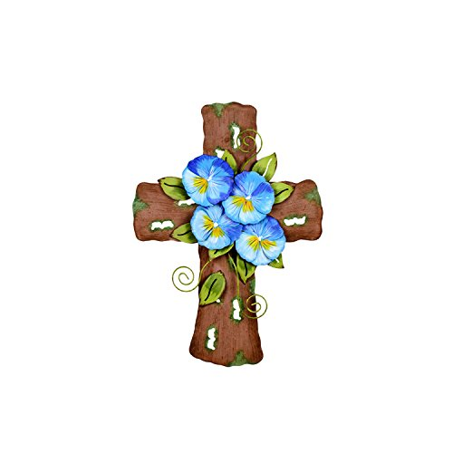 The Round Top Collection Pansy Cross ()