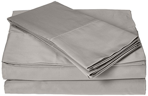 Belle Epoque 420 king Thread Count Sheet Set with Hemstitch, Dove by Belle Epoque