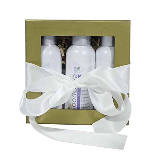 Perfect Gift Set for Women with Organic Bath Products by GoodOnYa (4 oz)
