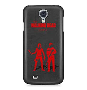The Walking Dead Couple Glenn And Maggie Greene Hard Plastic Phone Case Cover For Samsung Galaxy S4
