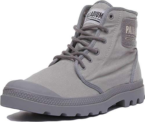 - Palladium Pampa Hi Tc 2.0 Ankle Boots in Titanium (US 10.5, Titanium)