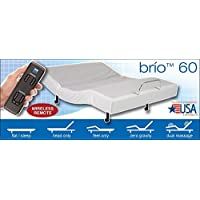 Leggett & platt Brio 60 adjustable bed w/ wallhugger and massage (Queen)