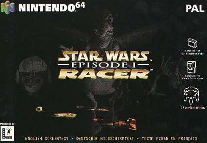 """Résultat de recherche d'images pour """"Star Wars Episode I : Racer 64"""""""