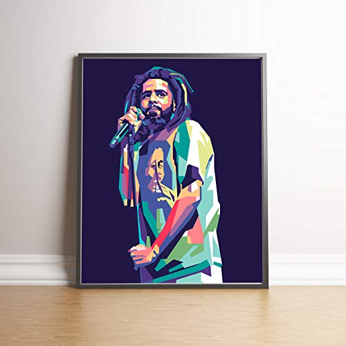 J Cole Limited Edition Poster Wall Art Wall Merchandise Additional Sizes 16×20