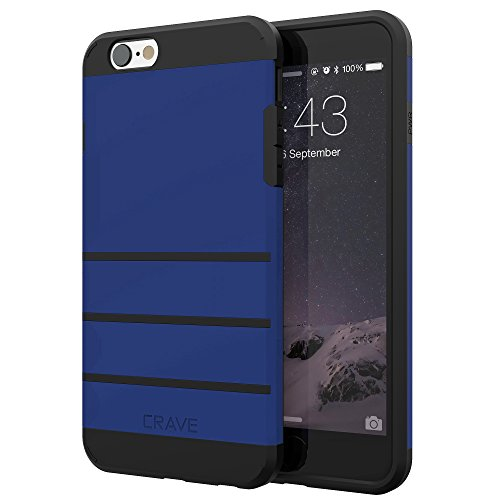 iPhone 6S Case, iPhone 6 Case, Crave Strong Guard Protection Series Case for Apple iPhone 6 6s (4.7 Inch) - Navy