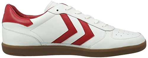 Leather Adulte Mixte Hummel Basses Victory white Sneakers Blanc acRaq5nA1