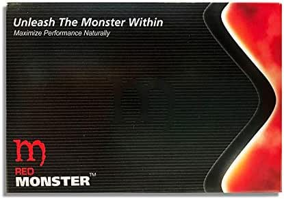 Red Monster (30 Caps) All Natural Male Energy