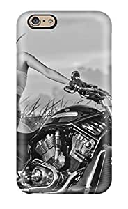 For Iphone Case, High Quality Girls And Motorcycles For Iphone 6 Cover Cases
