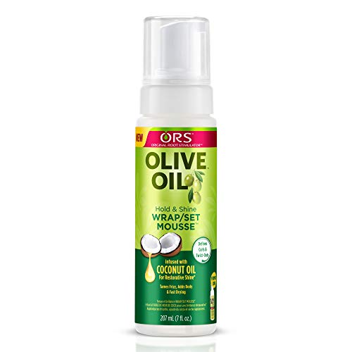 ORS Olive Oil Hold & Shine Wrap/Set Mousse (Organic Root Stimulator Lock & Twist Gel)