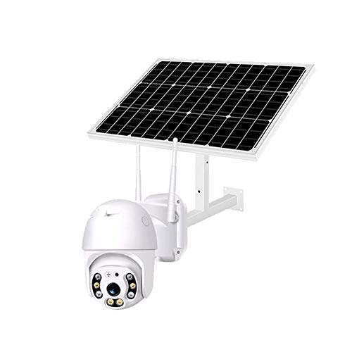 DBM-TOR 4G LTE Outdoor Solar-Powered Security Camera, Wirefree 1536P HD Camera System w/SD Socket & PIR, Night Vision, 2-Way Audio, Waterproof,Solar Camera
