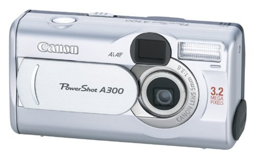 Canon PowerShot A300 3.2MP Digital Camera with 5.1x Digital (Canon Powershot A200 Is)