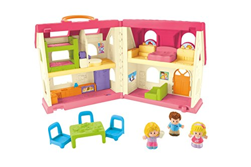 41MTRa0z2JL - Fisher-Price Little People Surprise & Sounds Home Playset