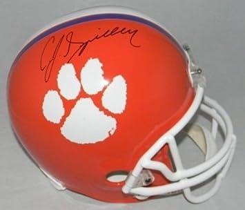 a1385d659 Amazon.com  Cj Spiller Autographed Clemson Tigers Full Size Helmet ...