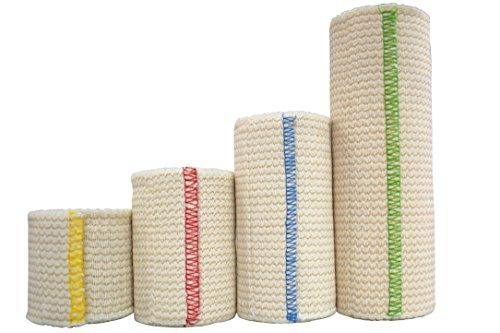 NexSkin Elastic Bandage Compression Wrap w/Hook Loop Closure