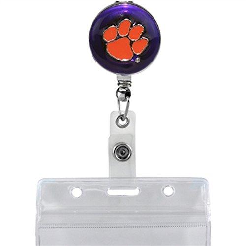 Sandol Clemson Tigers Retractable Badge Reel by Sandol