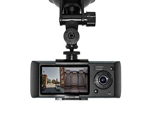BrickHouse Security 363-CD114 Dual View Car Camera with GPS and G-Sensor Logger by Brickhouse Security