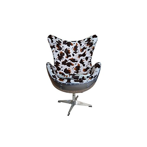 Sessel EGG Chair Flieger Kuhhaut