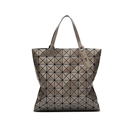 Donne Moda Daypack Tracolla Grande Crossbody Casual colore Borsa Pu Delle 42cm Dimensioni Brown 42 Bianca Capacità A zERApRwnq