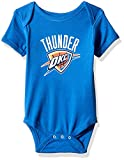 NBA by Outerstuff NBA Newborn & Infant Oklahoma City Thunder Primary Logo Short Sleeve Bodysuit, Strong Blue, 24 Months