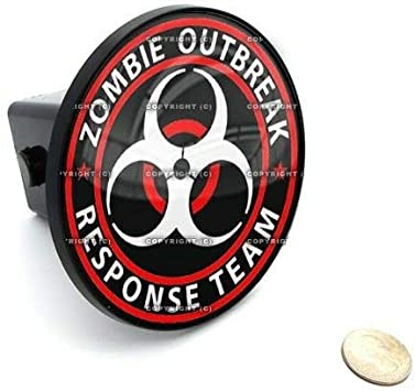 2 Tow Hitch Receiver Cover Insert Plug for Most Truck /& SUV Zombie Outbreak Quality Accessories for Motorcycle Car Tuning by Tuning/_Store