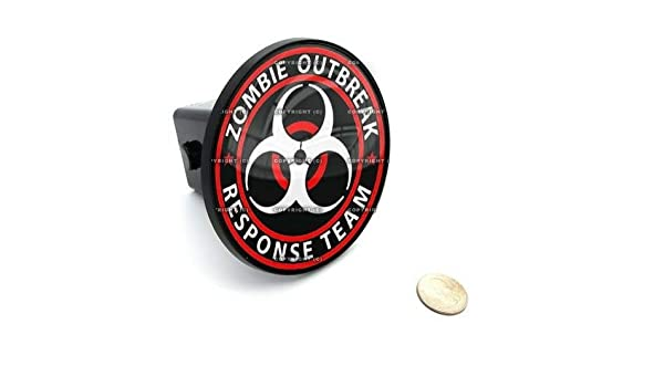 Zombie Outbreak Quality Accessories for Motorcycle Car Tuning by Tuning/_Store 2 Tow Hitch Receiver Cover Insert Plug for Most Truck /& SUV